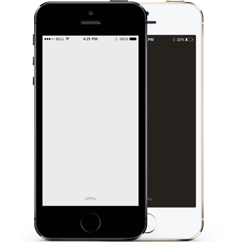 iPhoneSE、iPhone5S、iPhone5c、iPhone5、iPhone4S、iPhone4